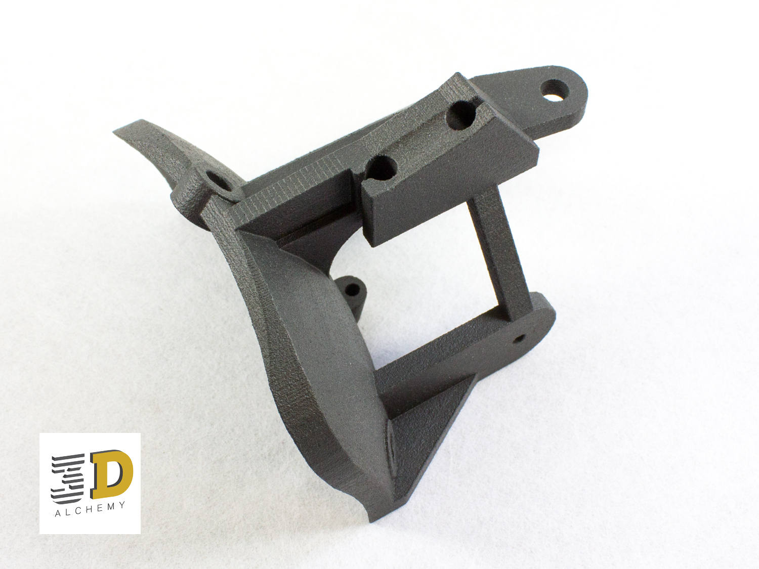 Frame design, 3d printed Carbon in SLS
