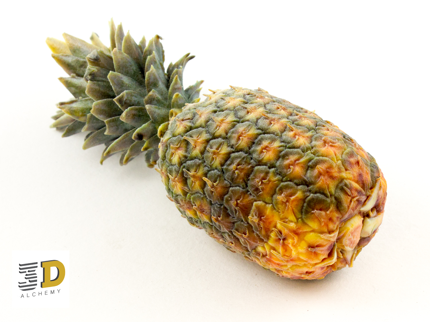 Life like 3D-Printed Pinapple