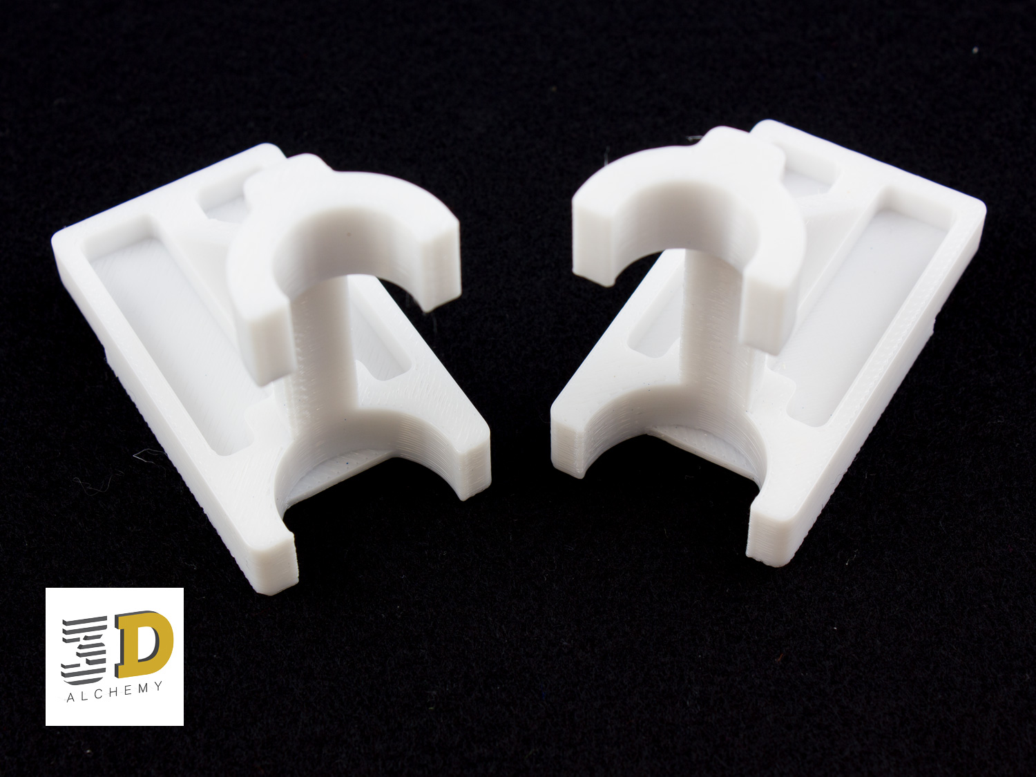 Factory jigs and fixtures 3d printed in Polycarbonate